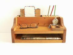 Desk-top Organizer Cubby