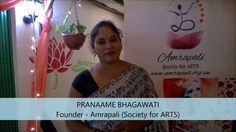 Pranaame Bhagawati, Founder of Amrapali (Society for ARTS) speaks upon 2nd Culture Colloquium - Autumn 2016, held on September 25, 2016 at the Amrapali Institute of Arts, Zoo Tiniali, Guwahati