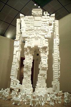 Robot giant.
