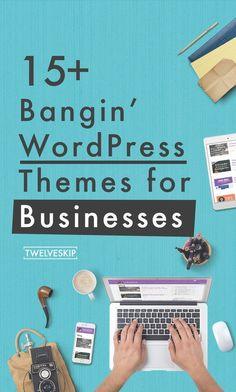 15+ Bangin' Business Wordpress Themes For 2016