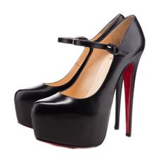 Christian Louboutin Lady Daf 160 Pumps Black [CL201234] - $126.50 : Designershoes-shopping, World collection of Top Designer high heel UP TO 90% OFF!