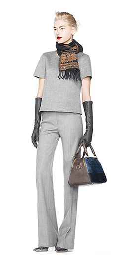 Long leather gloves - a trend for Fall 2013: J.Crew Fall 2013 Lookbook