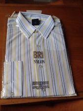 """Vintage Bri Nylon Carvel Mens Shirt 16"""" Collar"""