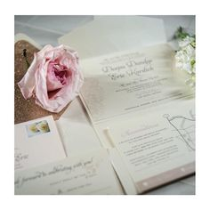 Rose Gold Glitter Envelope Liners