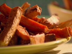 Sweet Potato and Celery Root Fries Recipe : Sunny Anderson : Food Network - FoodNetwork.com