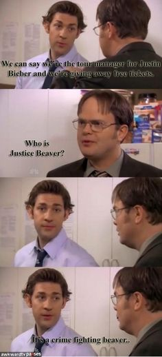 this is whyy i liked The Office! lol