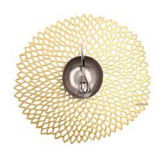 Made by Chilewich. 667880909757 Part: The Chilewich table placemat is irregularly round and measures 15 inches in diameter. Made in Taiwan. Use and Care: To clean Chilewich table plac Placemat Sets, My Home Design, House Design, Silver Table, Vinyl, Table Linens, Home Projects, Home Remodeling, Placemat