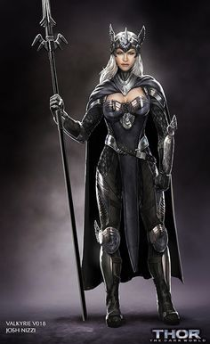 Meet the Valkyrie that was almost in Thor: The Dark World // IS THIS FOR REAL @modernfairytale