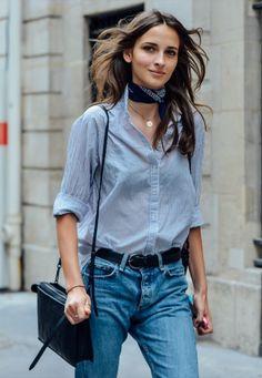 neckerchief trend on apartment 34