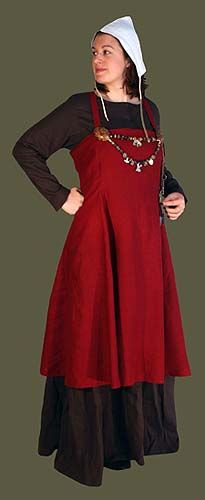 Simple Early Medieval/ Viking Womens Full Wardrobe, another pretty set but more expensive than the etsy one I like...