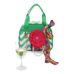 The Dayton Wine Purse by Vivajennz by vivajennz on Etsy