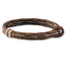 Orvis Men's braided horsehair bracelet