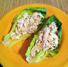 taylor made: 17 day diet chicken & egg salad lettuce wraps