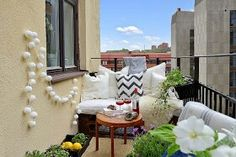 Best appartement balkon decoreren images gardens