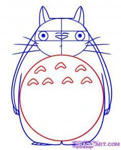 Как рисовать Тоторо