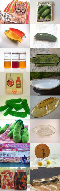 A Bit of a Pickle  by Martha Danielson on Etsy--Pinned with TreasuryPin.com