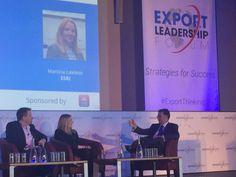 Martina Lawless ESRI, Brett Meyers, CurrencyFair, Tom Hall AIB talk #FinTech & customer experience #ExportThinking