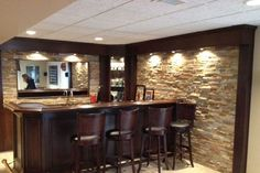 Lovely Build A Bar In Your Basement