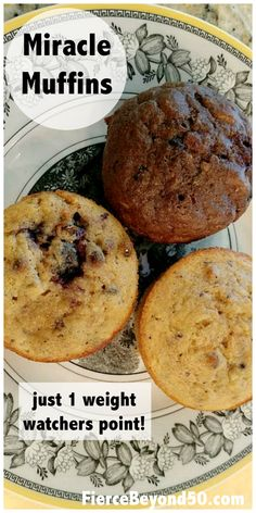 Miracle Muffins: Just One Weight Watchers Point Each! Miracle Muffins: Just One Weight Watchers Point Each!,Recipes- Keeping on the menu Miracle Muffins: Just One Weight Watchers Point Each! Weight Watcher Desserts, Weight Watchers Snacks, Weight Watchers Points, Muffins Weight Watchers, Plats Weight Watchers, Weight Watchers Meal Plans, Weigh Watchers, Weight Watchers Breakfast, Weight Watcher Dinners