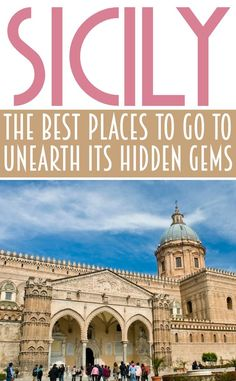 As the largest of all the and with a long and ancient history; you will be spoilt for choice with what to see in Sicily. Let's look at some of the best places in Sicily Travel, Italy Travel Tips, Things To Do In Italy, Places In Italy, Places To Travel, Places To Go, Palermo Sicily, Italy Vacation, Italy Trip