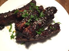 Sticky Spare Ribs with Birch Syrup