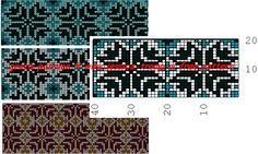 noorse telpatronen norse color chart