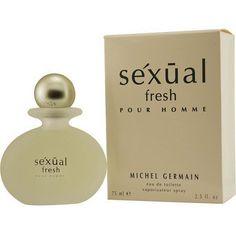 Michel Germain Sexual Fresh Men's 2.5-ounce Eau de Toilette Spray (Sexual Fresh Edt Spray 2.5 oz For Men), Pink grapefruit, Size 2.1 - 3 Oz.