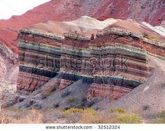 Colorful rock in Quebrada de Humauaca, Argentina by thoron, via Shutterstock