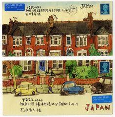 Mail Art, Satoshi Kitamura