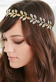 Etched Leaf Head Piece | FOREVER21 - 1000054130