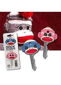 Sock Monkey Keycap (2010) - New - Novelty & Fun Stuff