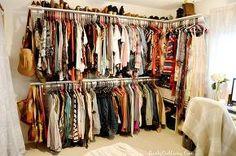 craft room turned dressing closet room on a budget, bedroom ideas, closet, organizing, repurposing upcycling