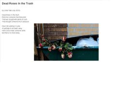 Dead Roses In the Trash  By Linda Tate