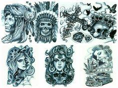 KONOMI Tattoo flash! の画像|栃木県小山市 Skin Evolution Tattoo 女性彫師 KONOMI ブログ