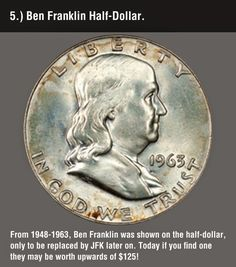Funny pictures about These 8 Valuable Coins May Be Hiding In Your Change. Oh, and cool pics about These 8 Valuable Coins May Be Hiding In Your Change. Also, These 8 Valuable Coins May Be Hiding In Your Change photos. Rare Coins Worth Money, Valuable Coins, Coin Worth, Error Coins, Coin Values, Old Money, Antique Coins, Dollar Coin, Half Dollar