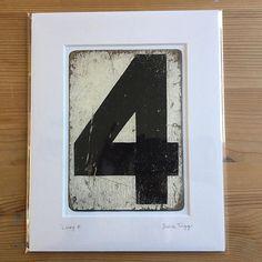 Thank you Etsy for my 100th order off to Cumbria   #lucky4 #etsysale #cricket #scoreboard #vintagenumber #shabbychic #distressed #handlettering #peelingpaint #blackandwhite #monochrome #number4 #housenumber #housewarming #newhome #retroart #ephemera #shopletter #oldsign #foundart #thankyouetsy #juliatrigg #100th