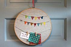 Happy Garland Message Board by maureencracknell, via Flickr