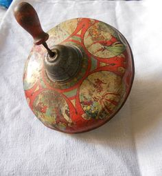 vintage tin spinners