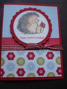 Ladybug hedgehog