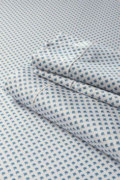 400-count No Iron Print Sateen Sheet Set or Pillowcase from Lands' End