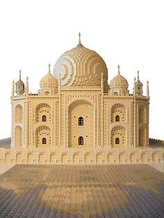 Lego architecture: Taj Mahal