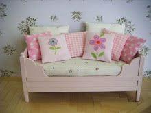 springtime: daybed & pillows