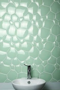 I love this tile work