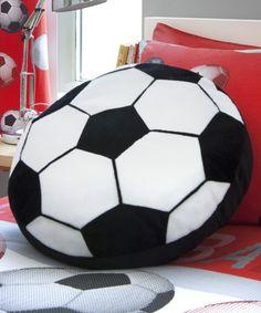 Voetbalkussen met een doorsnee van 40 cm. Prijs slechts 12,95