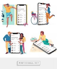 Gusto Geo Campaign on Behance. People Illustration, Love Illustration, Character Illustration, Digital Illustration, Vector Design, App Design, App Logo, Illustrations And Posters, Graphic Design Typography