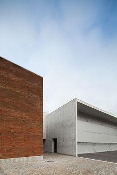 Santo Tirso Fire Station | Álvaro Siza Vieira (Photo: Joao Morgado – Architecture Photography) | Archinect: