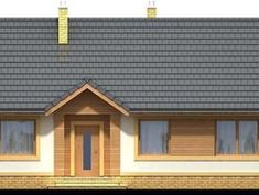 DOM.PL™ - Projekt domu ARN Sezam CE - DOM RS1-24 - gotowy koszt budowy Home Fashion, Shed, Outdoor Structures, House Styles, Home Decor, Houses, Homemade Home Decor, Backyard Sheds, Coops