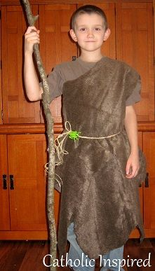 St. John the Baptist Costume {See how it's made}  | Catholic Inspired