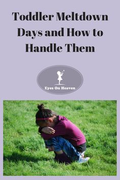 Toddler Meltdown Days and How to Handle