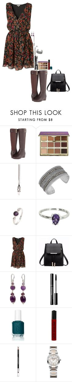 """""""Untitled #2081"""" by oceangirl1995 ❤ liked on Polyvore featuring Rockport, tarte, Clink, Lucky Brand, Belec, Topshop, NOVICA, Essie, NYX and The Body Shop"""